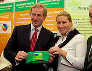 Taoiseach Enda Kenny at Agri Aware Stand at The National Ploughing Championships 2014.