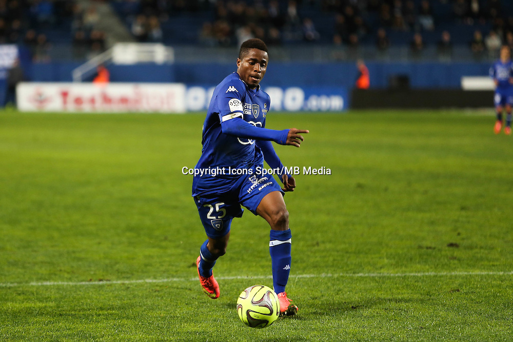 Francois KAMANO - 03.12.2014 - Bastia / Evian Thonon - 16eme journee de Ligue 1 <br />Photo : Michel Maestracci / Icon Sport