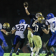 HIGH SCHOOL FOOTBALL 2015 - OCT 09 - Salesianum defeats Middletown 20 - 6