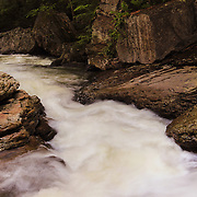 &quot;Rockin the Run&quot; 3<br /> <br /> Wonderful and scenic Meadow Run stream flowing strongly over beautiful rock formations in Ohiopyle State Park located in Ohiopyle PA.!!<br /> <br /> Laurel Highlands Area of Pennsylvania by Rachel Cohen