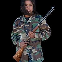 Mark Goings jr., Lakota, Wounded Knee, South Dakota, USA, Model release 0131,