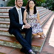 Junghee Lee & Gerhard Helleman wedding. Oct 10, 2014.