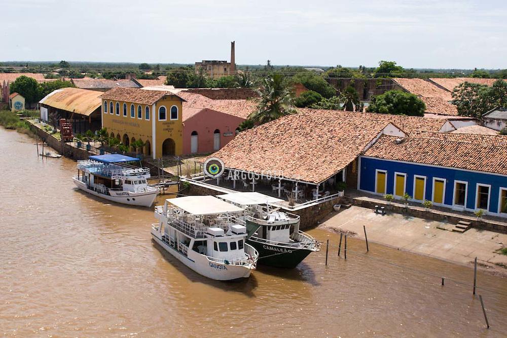Parnaiba, regiao da cidade ao lado do rio Parnaiba./ Parnaíba is a port city in Piaui Brazil, on the right bank of the Parnaiba River.