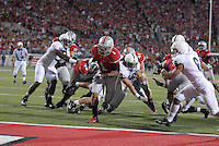 Baniel 'Boom' Herron scores a touchdown in the Ohio State vs Penn State game on Nov. 13, 2010 at Ohio Stadium in Columbus, Ohio.
