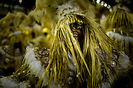 Rio de Janeiro, RJ, Brazil, 08/03/2011, 00h52:  A samba dancer in Rio de Janeiro's 2011 Carnival, at Marquês de Sapucaí avenue.  (photo: Caio Guatelli)