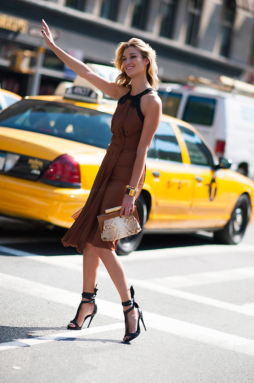 Lauren Remington Platt, Hailing a Cab