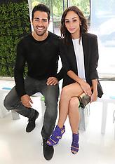 JUNE 17 2013 Celebrities at London Men's Fashion Week