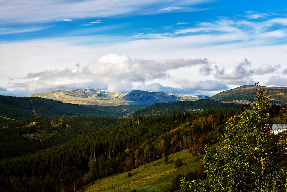 A view toward Jotunheimen.