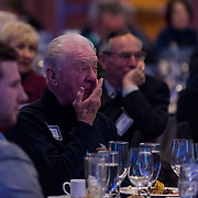 A 94th birthday celebration for Gonzaga Chancellor and former President Bernard J. Coughlin, S.J., on Dec. 7. Friends and family gathered in the Hemingson Ballroom at Gonzaga University to celebrate Father Coughlin's 94th birthday.