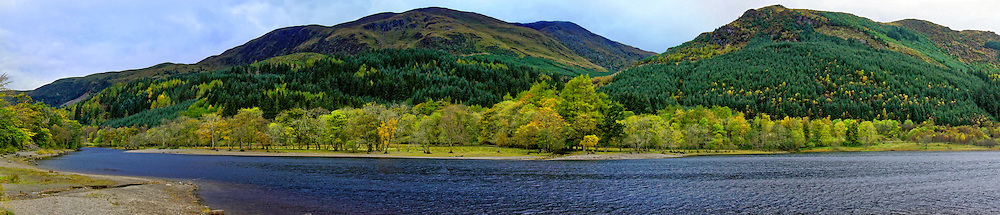 Loch Lubnaig is a small loch near Callander in the Stirling area of Scotland.