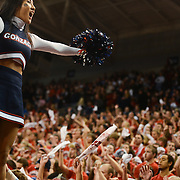 Cheerleaders fire up the Kennel Club vs. Southern Utah<br />