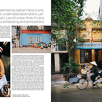 Lifestyle+Travel Magazine feature story on Hanoi, Vietnam.
