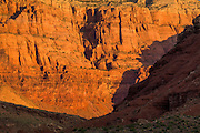 Sunrise on the Vermilion Cliffs near Lee's Ferry in nothern Arizona