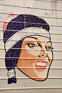 Native American, sign, truck, junk yard, Lewistown, Montana
