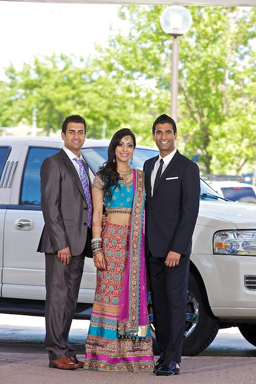 Amarpreet Atwal and Rajdeep Dhaliwal's wedding reception, June 5, 2010.