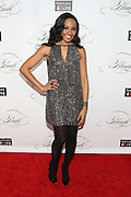"""December 6, 2012- New York, NY: On-Air Personality Janelle Snowden attends the ' Keep A Child Alive Black Ball """" Redux """" 2012 ' held at the Apollo Theater on December 6, 2012 in Harlem, New York City. The Benefit pays homage to Oprah Winfrey, Angelique Kidjo for their philanthropic contributions in Africa and worldwide and celebrates the power of woman and the promise of an AIDS-free Africa. (Terrence Jennings)"""