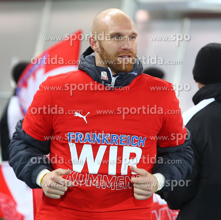12.10.2015, Ernst Happel Stadion, Wien, AUT, UEFA Euro 2016 Qualifikation, Oesterreich vs Liechtenstein, Gruppe G, im Bild Robert Almer (AUT) // during the UEFA EURO 2016 qualifier group G between Austria and Liechtenstein at the Ernst Happel Stadion, Vienna, Austria on 2015/10/12. EXPA Pictures © 2015, PhotoCredit: EXPA/ Thomas Haumer