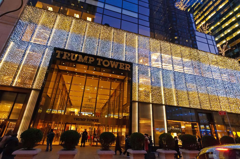 Trump Tower, Manhattan, New York City, New York, USA ...