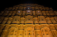 "Hawa Mahal is a one of a kind building because its exterior has 953 windows decorated with intricate latticework. The building is also called ""Palace of Winds"".  Lal Chand Ustad was the architect of this masterpiece who also planned Jaipur city - much of which is pink colored sandstone like the Hawa Mahal itself.  Hawa Mahal is the symbol and icon of Jaipur ""The Pink City""."