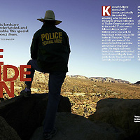 Cover story from assignment for Preservation, the magazine for the National Trust for Historic Preservation. Story about protecting the nation's public lands.