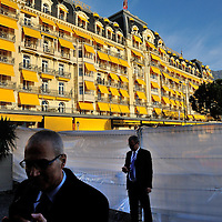 Geneva 2 Syria talks, taking place in Montreux, at the Montreux Palace Hotel.