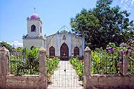 Church in Jesus Menendez, Las Tunas, Cuba.