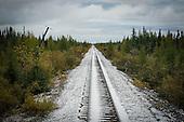 Le  train Tshiuetin et Schefferville