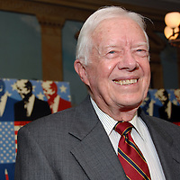 """President Jimmy Carter At the advance screening of """"Jimmy Carter Man From Plains"""" in Washington, DC on October 23, 2007.  The film was directed by award winning director Jonathan Demme and is based on the life of Jimmy Carter."""