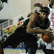 Erie BayHawks Guard Mustafa Shakur (22) drives towards the basket in the second half of a NBA D-league regular season basketball game between Delaware 87ers (76ers) and the Erie BayHawks (Knicks) Friday, Jan. 3, 2014 at The Bob Carpenter Sports Convocation Center, Newark, DE