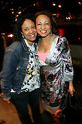 """l to r: Camille Evans and Collen Wilson at The Bombay Sapphire & Vibe Magazine Present Ashanti's """"The Declaration"""" A Listening Party held at The W Hotel (West Street) on June 4, 2008"""