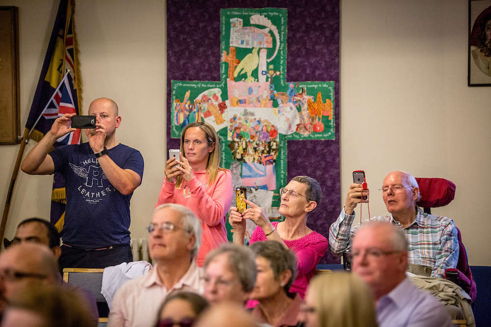 Mambo with Malinslee: The In Harmony Telford community welcome the Young Leaders in performance<br /> <br /> It was tipping it down with rain when the Young Leaders arrived at St Leonard&rsquo;s Church in Malinslee for a performance that would celebrate their week of intensive music-making in Shrewsbury. In they packed, meeting and giving stickers to members of the In Harmony Telford Nucleo Orchestra, which was preparing to rehearse.<br /> <br /> The church is a stone&rsquo;s throw from Old Park Primary school, home to In Harmony Telford, from which 9 Young Leaders joined the orchestra this year. This was an important opportunity for these new Leaders to perform to their families, for the Young Leaders to share a stage with the budding In Harmony Telford Nucleo Orchestra, and for all the young musicians to inspire their younger peers and families. (Photos/Ivan Gonzalez)