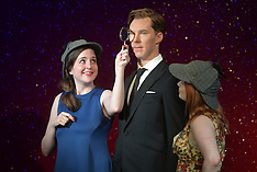 OCT 21 2014 Benedict Cumberbatch wax figure launch at Madame Tussauds