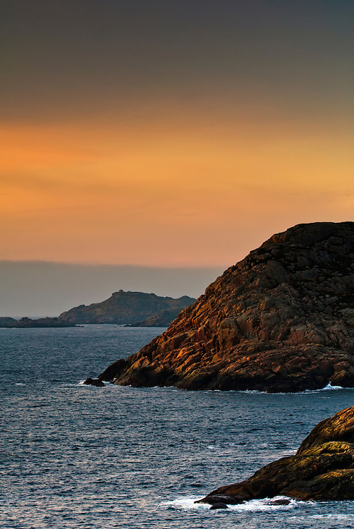 Sunset at Lindesnes.
