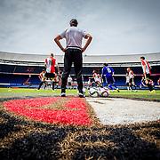 Eerste training Feyenoord