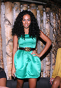 Solange Knowles at Solange Knowles NYC Album release party held at Butter in New York City on September 5, 2008
