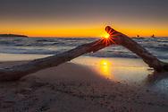 Seaside of Varna at Sunrise