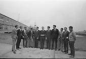 1967 - Members of the Highgate International Diving Club, London, arrive in Dun Laoghaire