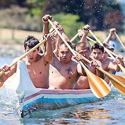 First war canoe race in over 100 years in Victoria's Inner Harbour June 27, 2015
