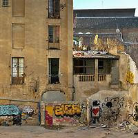 Condemned squat on Calle Valldoncella, Barcelona 2005