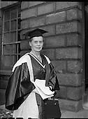 1957 – 04/07 Degrees at TCD