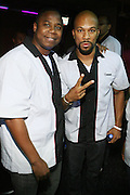 l to r: Dougie Fresh and Common at Common's Start the Show n' Bowl benefiting The Common Ground Foundation held at Hotel Sax on September 26, 2008 in Chicago, IL