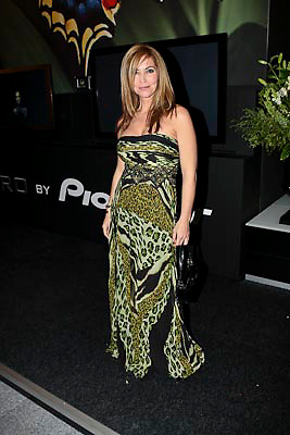NLD/Amsterdam/20081211 - Miljonairfair 2008, zwangere Marielle Bastiaansen