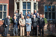 2-9-2014 HILVERSUM -  Princess Beatrix of the Netherlands visit on Tuesday, September 2nd at the reunion of the Society Engelandvaarders on the Estate's Zwaluwe Mountain in Hilversum. The society was founded in 1969 to include the goal of preserving contact between Engelandvaarders.<br /> COPYRIGHT ROBIN UTRECHT