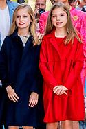 16-4-2017 - PALMA DE MALLORCA -, princess Sofia, King Felipe, Queen Letizia, Princess Leonor, Princess Sofia attend the eastern mass at the cathedral in Palma de Mallorca, 16 april 2017. COPYRIGHT ROBIN UTRECHT<br /> eastern mass mis pasen paas spaanse spain spanje palma de mallorca princess prinses leonor sofia king koning juan carlos koningin queen sofia princess prinses letizia elena prince prins felipe <br /> 16-4-2017 - PALMA DE MALLORCA -, prinses Sofia, koning  Felipe, koningin  Letizia, Prinses Leonor, Princess Sofia wonen de paasmis paasfeest oostelijke mis in de kathedraal van Palma de Mallorca, 16 april 2017. COPYRIGHT ROBIN UTRECHT