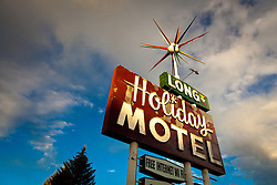 Long Holiday Motel. Somehwere in America along Highway 50.
