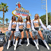 Oakland Raiders Announce Draft Picks At Welcome To Fabulous Las Vegas Sign