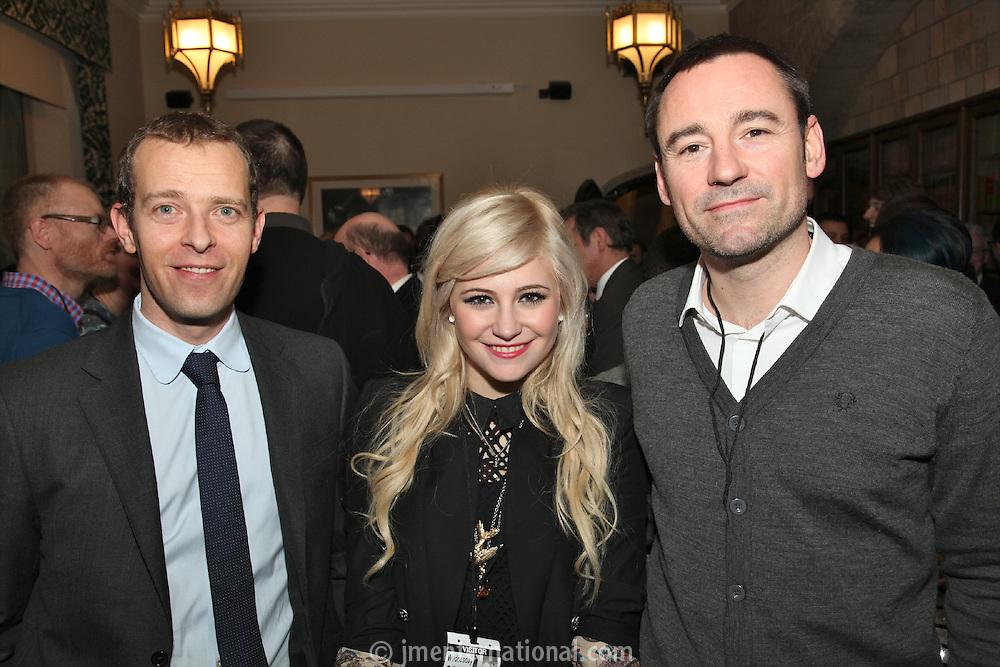Geoff Taylor, Pixie Lott and Jason Iley