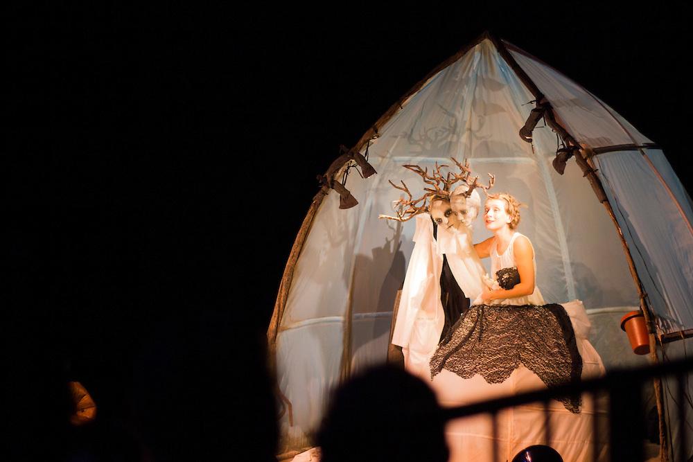 Julie Desrosiers à la maison de la culture du Plateau Mont-Royal, le 17 octobre 2015
