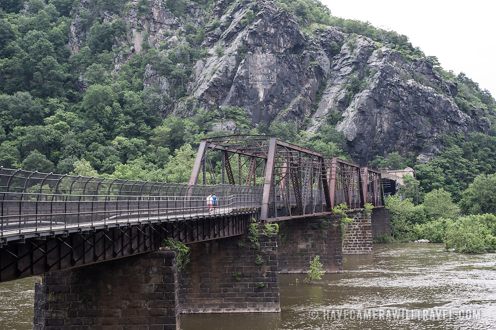 Harpers Ferry (WV) United States  City new picture : Bridge and Cliffs in Harpers Ferry West Virginia | Have Camera Will ...