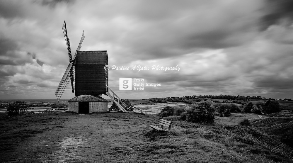 The windmill at Brill, Buckinghamshire on a windy summer's day. Taken with ND110 filter<br /> <br /> All posters are self-fulfilled. Prices vary depending on poster size and quality. Delivery is usually &pound;3.75.